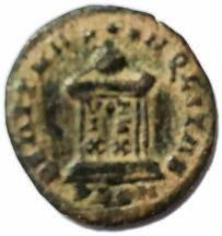 reverso moneda Gallur 2