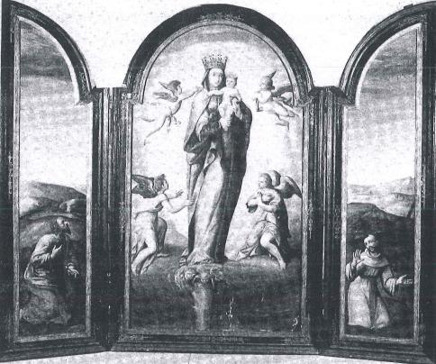 tríptico de la Virgen del Pilar